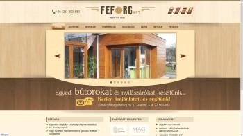 www.feforg.hu / Székesfehérvár
